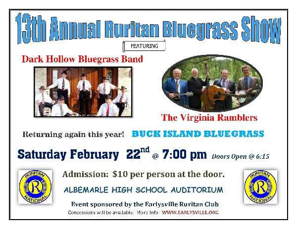 13th Annual Bluegrass Show