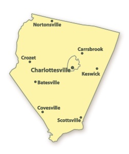 Albemarle County Map