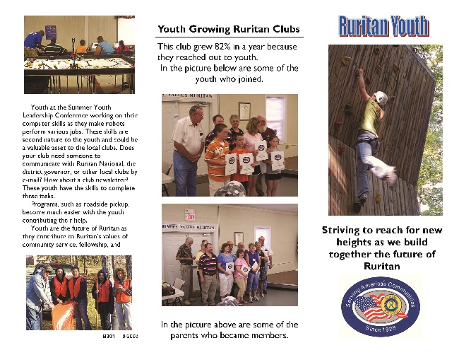 Ruritan Youth Brochure