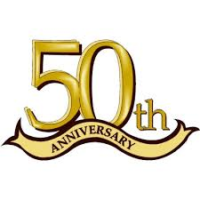 50th Anniversary (free clip art)