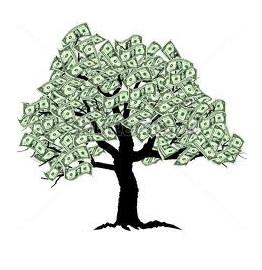 Money tree (free clip art)