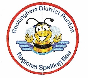 Spelling bee logo from Rockingham District