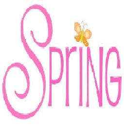 Spring (free clip art)