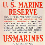 Biggers, William, 1960-1966, Holly Grove Ruritan (photo US Marine Reserve recruitment poster)