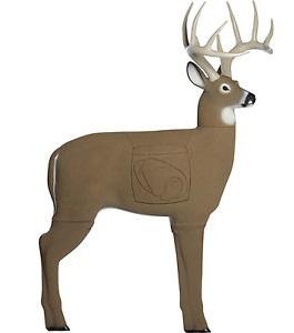 3D archery target - deer (free clip art)