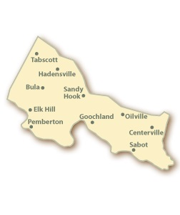 Goochland County VA Map