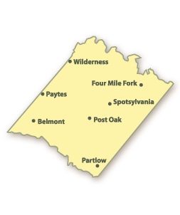 Spotsylvania County Map
