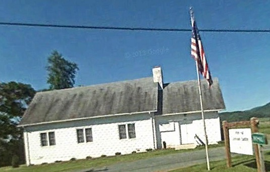 White Hall Ruritan Meeting Location (photo Google Earth)