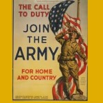 Hayden, Bob, 1948-1955, Belmont Ruritan (photo Army recruitment poster)