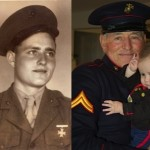 "Estes, Robert ""Buck,""1942-1946, Barboursville Ruritan (then and now)"