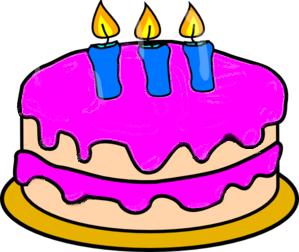 Three Month Anniversary Cake