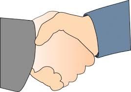 Handshake (free clip art)