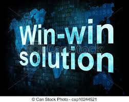 Win-Win Solution (free clip art)