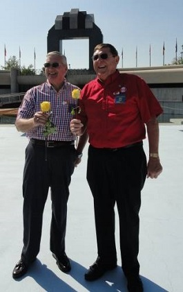 Elliott Hogge and Bobby Burton 9-14