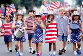 Independence Day Parade (free clip art)