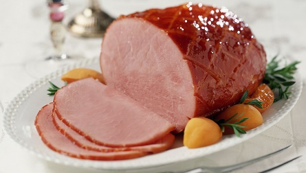 ham supper (free clip art)