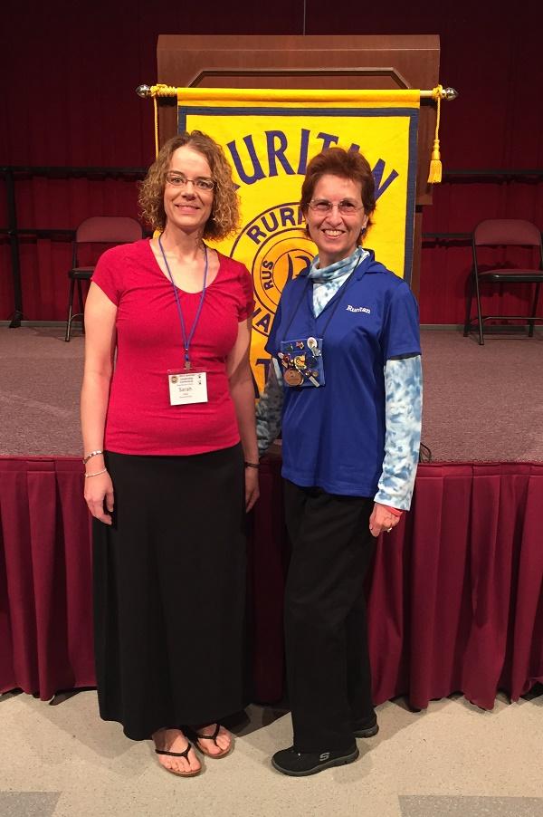 L-R: Sarah Kelly, Linda Bradshaw