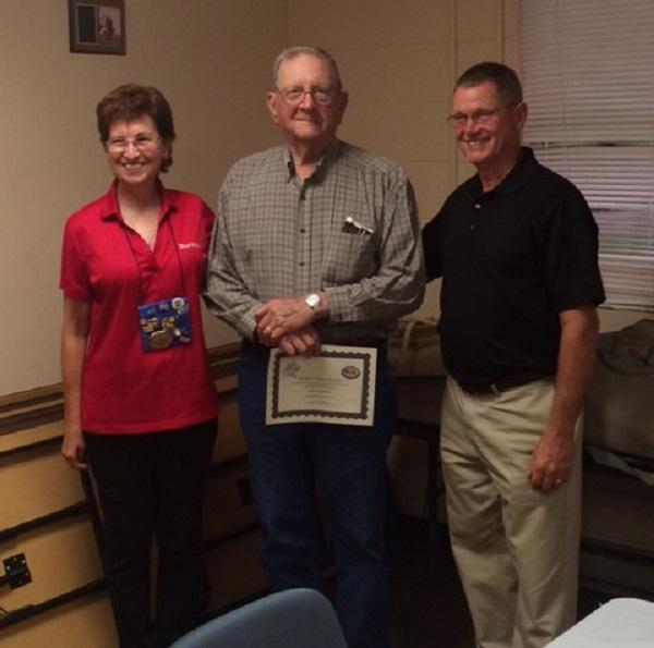 Linda Bradshaw, Samuel Thacker, Wayne Shifflett (photo credit Hank Smith)