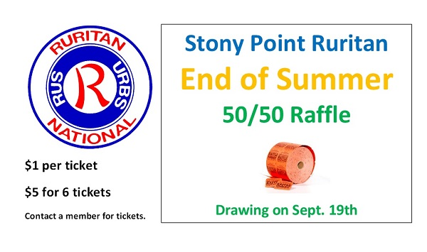 Stony Point End of Summer Raffle 9-19-15