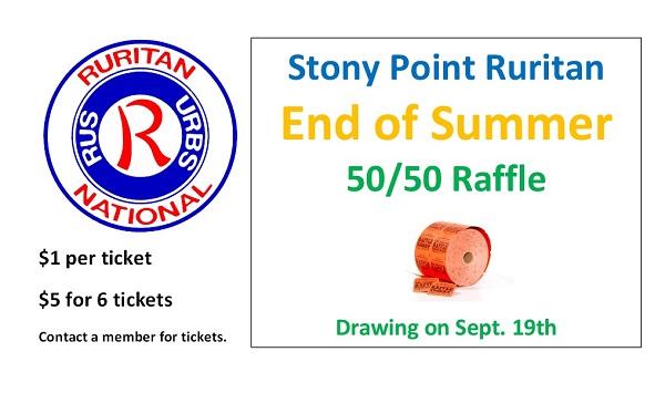 Stony Point End of Summer Raffle 9-19-15