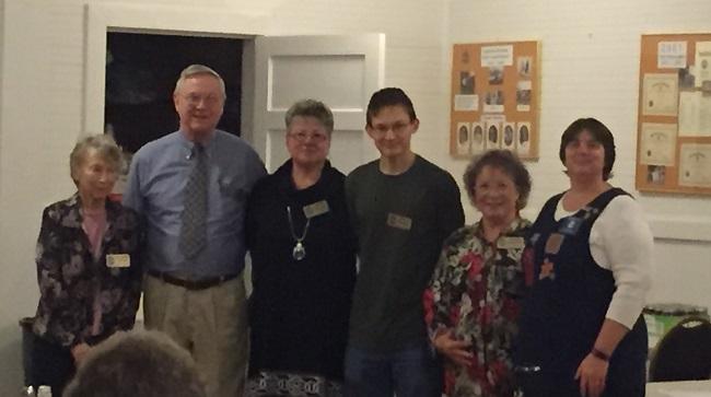 L-R Rozelle Amick, Tommy Gaulden, Deborah Gaulden, Jaycen Creasy, Sandra Ruthorford, Irene Luck (photo credit Linda Bradshaw)