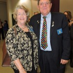 L-R Linda Burton, Bobby Burton (photo credit Jefferson VA Ruritan Club)