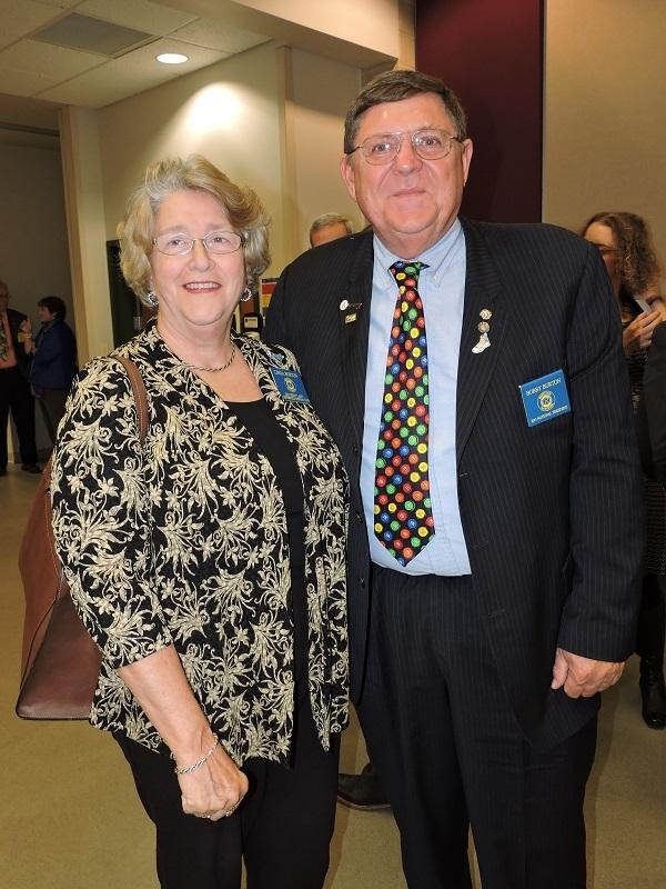 L-R Linda Burton, Bobby Burton (photo credit Jefferson VA Ruritan Club)
