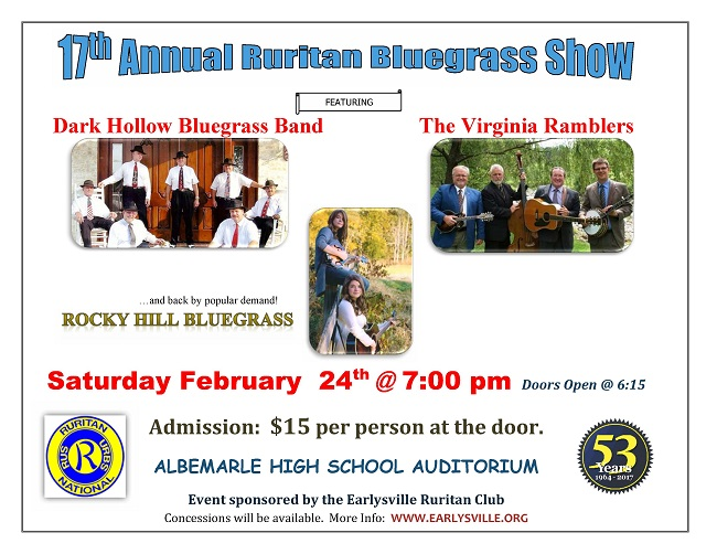 17th Annual Bluegrass Show