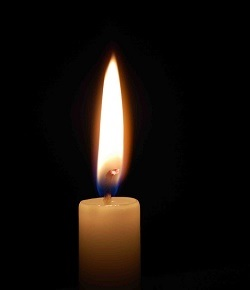 Memorial Candle For Julia Lloyd
